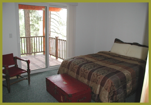 Red Bedroom big vacation rental Lake Tahoe
